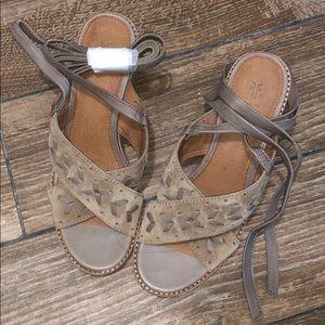 Frye Block Sandals
